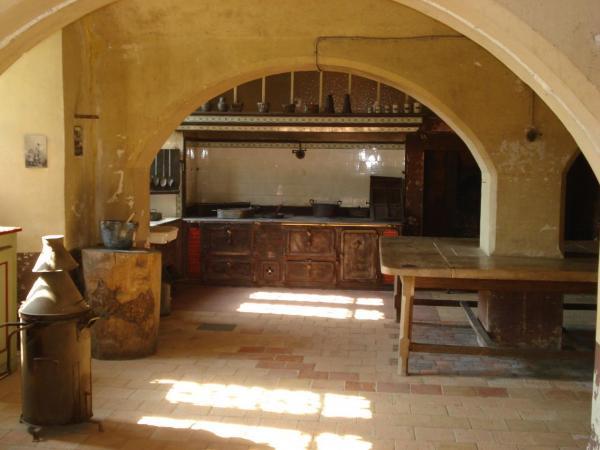 Les anciennes cuisines