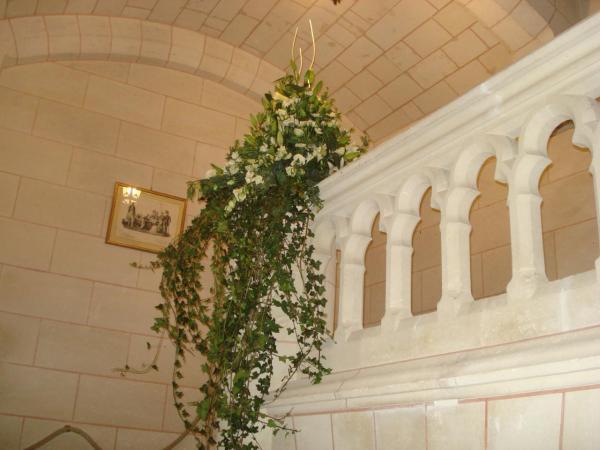 Décoration de l'escalier d'honneur