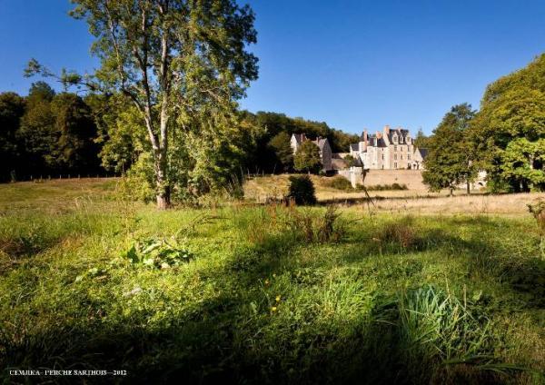 Le château en été