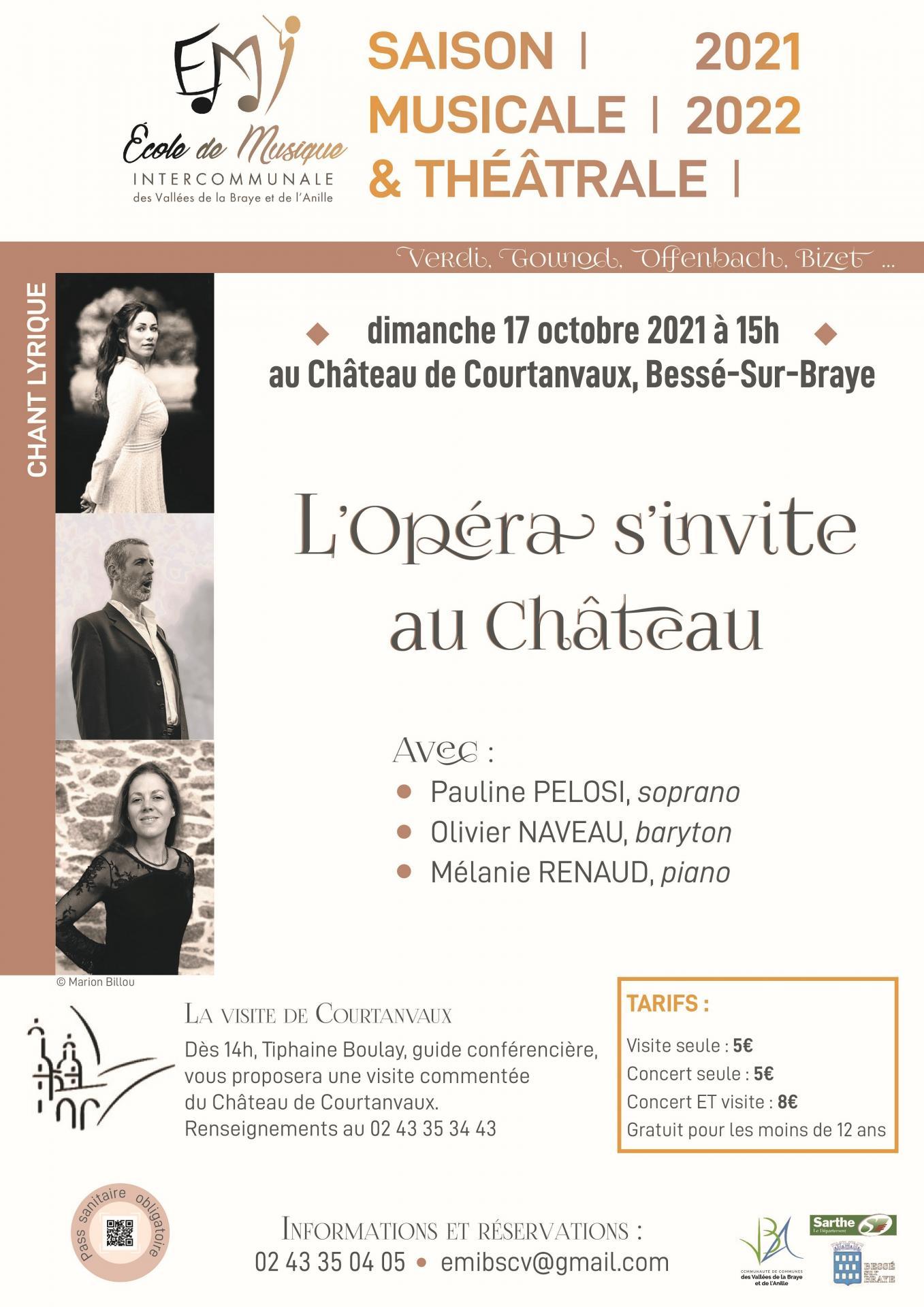 L'opéra s'invite au château
