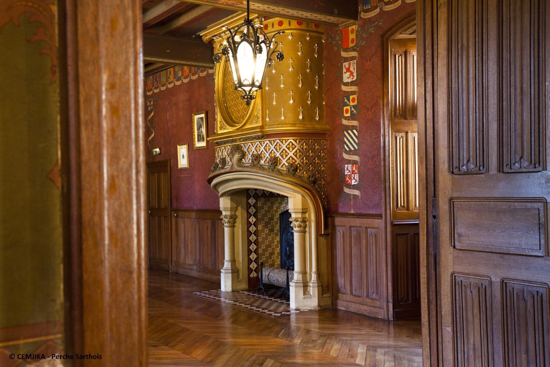 Visite_château_de_Courtanvaux